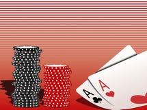 jak poker Zdjęcia Royalty Free