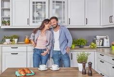 jak siekana gotowania kilka lady każdego być obramowane szczęśliwie się szczęśliwy kuchenny blisko innej pieprzowej zdjęcia uśmie Zdjęcia Stock