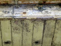 jak spojrzenia TARGET1821_1_ upał maluje obierania rozciąganie s Obrazy Stock