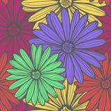 jakaś kolory istnieją deseniową kwiat wersję cztery Zdjęcie Royalty Free