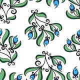 jakaś kolory istnieją deseniową kwiat wersję cztery Obraz Stock