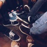 jakaś sneakers Obraz Royalty Free