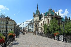 Jakab Palace in Kosice Royalty Free Stock Photos