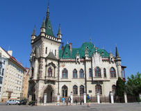 Jakab's Palace in Kosice Royalty Free Stock Photography