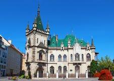 Jakabov pałac, Kosice, Sistani zdjęcia stock