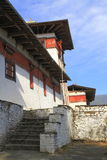 The Jakar Dzong Royalty Free Stock Photo