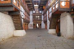 Jakar Dzong, Jakar, Bhutan Arkivbilder
