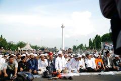 Jakarta 4ème de démonstration de novembre Images stock