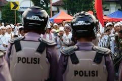 Jakarta 4ème de démonstration de novembre Image stock