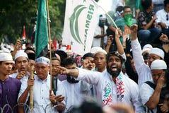 Jakarta 4ème de démonstration de novembre Images libres de droits