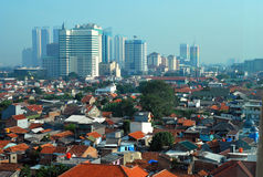 Jakarta royalty free stock photo