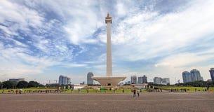 Jakarta City Skyline Royalty Free Stock Images