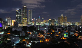 Jakarta City Skyline Royalty Free Stock Photos