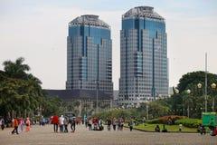 Jakarta City Skyline Royalty Free Stock Image