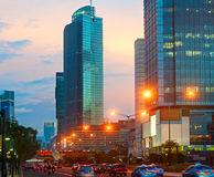 Jakarta Downtown, Indonesia Stock Photography