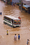 Jakarta floder Royaltyfri Fotografi