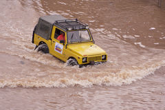 Jakarta floder Royaltyfria Foton