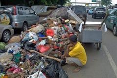 Jakarta flooding Stock Image