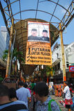 Jakarta governor election Royalty Free Stock Photo