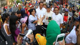 Jakarta governor election Royalty Free Stock Photography