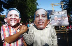 Jakarta governor election Royalty Free Stock Images