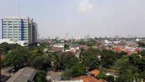 Jakarta heute stockfotografie