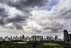 Jakarta horisont Arkivbilder