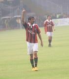 Légende Paolo Maldini de l'Italie et de l'AC Milan Image libre de droits