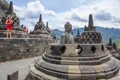 Jakarta, Indonesia, Borobudur Temple. royalty free stock photos