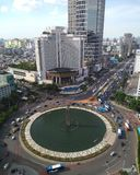 Jakarta at bundaran HI royalty free stock photography