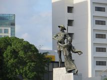 The Heroes Monument, Jakarta stock image