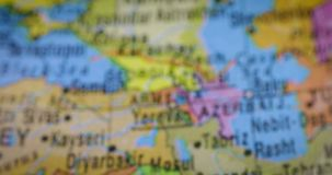 World map with iraq country map stock footage video of location iraq country region map on the globe stock footage gumiabroncs Gallery