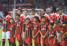 Former ac milan legend - Milan Glorie Royalty Free Stock Photography