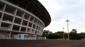 Gelora Bung Karno Stadium. Jakarta, Indonesia - January 26, 2018: Gelora Bung Karno Main Stadium. A multi-purpose stadium located at the center of the Gelora Royalty Free Stock Image
