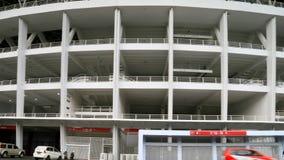 Gelora Bung Karno Stadium. Jakarta, Indonesia - January 26, 2018: Gelora Bung Karno Main Stadium. A multi-purpose stadium located at the center of the Gelora Stock Photos