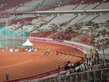 GBK sports complex in Senayan. royalty free stock images