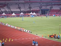 GBK sports complex in Senayan. stock images