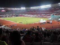 GBK sports complex in Senayan. stock image