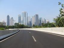 Semanggi Interchange, Jakarta Royalty Free Stock Images