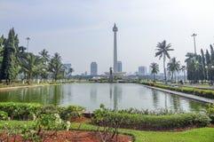 Jakarta in Java Stockfotografie