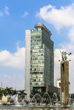 Jakarta kontorstorn Royaltyfri Fotografi
