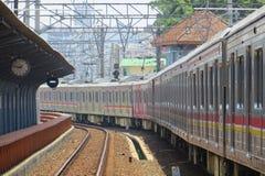 Jakarta Kota Station Royaltyfri Fotografi
