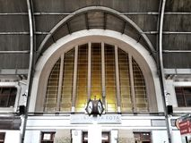 Jakarta Kota Station. Interior dome of the entrance of Jakarta Kota Station, Jakarta, Indonesia Stock Photos