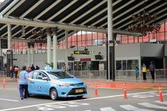 jakarta Maj 27th, 2017 Terminal 1B Soekarno-Hatta Internationa Obraz Stock