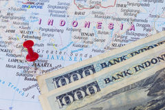 Indonesian money Royalty Free Stock Image