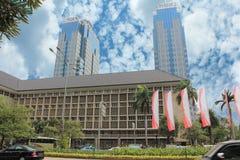 Jakarta Marien Photos libres de droits