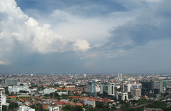 Jakarta after rain Royalty Free Stock Photography