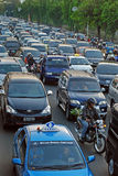 Jakarta road traffic Stock Photo