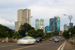 Jakarta roads Stock Photography
