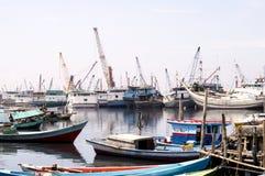 Jakarta Shipyard Stock Images